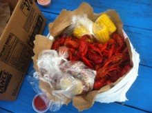 Just another crawfish dinner unboxing.