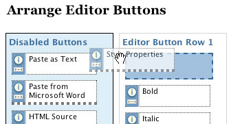 WP Super Edit Arrange Editor Buttons