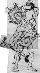 Old Loose Caboose T-Shirt Design Scans
